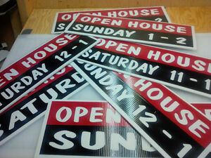 Sign toppers, open house, directional signs Kingston Kingston Area image 6