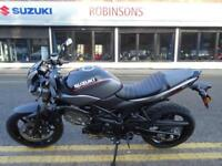 2018 SUZUKI SV650X 'CAFE RACER' FINANCE FROM 2% APR PCP/HP.