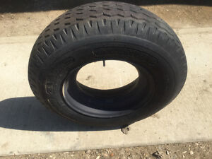 Mobile home tire and rims