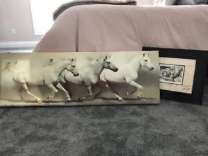 Stunning Signed Horse Art