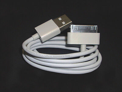 iPhone 4 4s 3G 2G 1G iPad 3 2 1 Datenkabel Ladekabel MA591 G/A in Weiss 4s Ipad 2