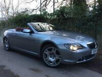 2004 BMW 645 4.4 V8 Auto Ci Convertible, Only 54k miles, Huge Spec £3k+ extras