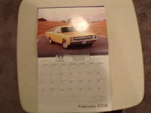 New 2009 DODGE MUSCLE CARS CALENDAR                       x2 Sarnia Sarnia Area image 3