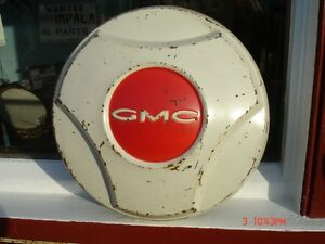 1964-66 Chevy / GMC pickup hub caps similar to these. London Ontario image 2