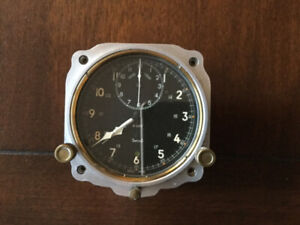 Smiths V308 Aircraft Clock by Jaeger-Le Coultre - Swiss Made