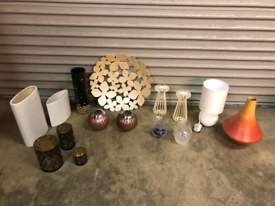 Ornaments, household decor and lighting