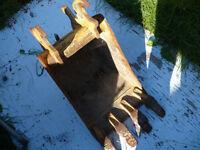 godet ou bucket d'excavation 16 '' john deere