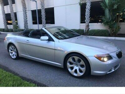 2004 BMW 6-Series 645Ci 2dr Convertible 2004 BMW 6 Series 645Ci 103,000 Miles Silver Convertible 8 Cylinder Engine 4.4L/