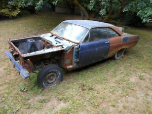 1966 and 1967 Fairlane 500 rolling chassis