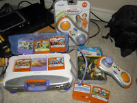 Vtech VMotion Console and games