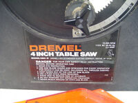 """4"""" Dremel table saw! Really hard to find!"""