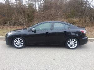 2010 Mazda Mazda3 Sport S/LOW KM 87,000 / SINGLE OWNER Sedan