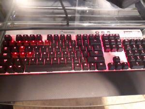 Corsair Aluminum K70 Vengeance Gaming Keyboard, $55obo