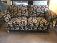 Floral Patterned 3 Seater Sofa - CAN DELIVER