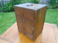 Vintage 1920's Watch makers drawer cabinet
