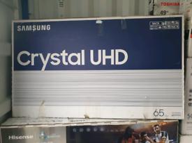 Samsung 65inch 8 series 4k ultra HD HDR new tv