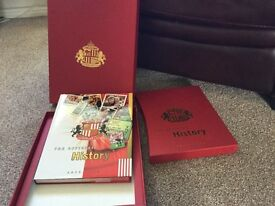 Sunderland AFC official history 1879-2000 hard back book. New lower price.