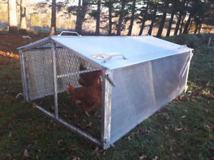 NEW Cackellac Chicken Tractor for Backyards