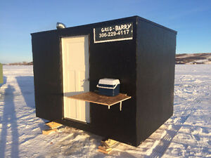 Two Ice Fishing Shack's ! Winter coming, Be prepared!