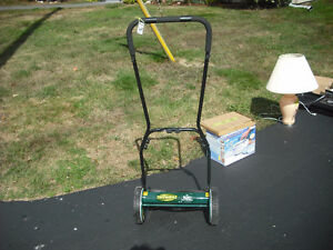 manual lawn mower 14 inch