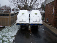 10 foot Toy Carrier snowmobile trailer