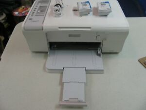 Printer HP Desktop with Cable, New Tricolor and Black Cart