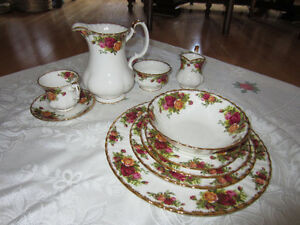 Old Country Rose China Dishes