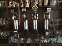 Set of 4 Retro Beer Pumps