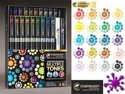 Chameleon Marker Set 22 Pen Deluxe Set