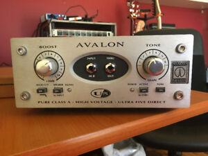 Avalon U5 Direct Box Instrument Préamplificateur