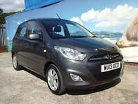 2013 HYUNDAI I10 ACTIVE £20 A YEAR TAX ONE OWNER LOW MILEAGE HATCHBACK PETROL