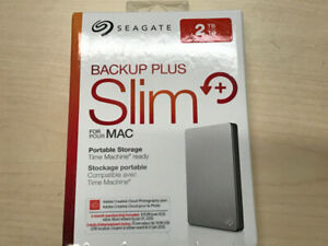 SEAGATE Portable Slim High-speed USB 3.0 / 2.0 connectivity NEW
