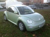 Volkswagen Beetle 1.6 2001MY RHD