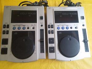 2 X Pioneer CDJ 100 S