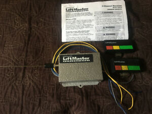 Lift Master 3-Channel Receive and two Transmitter