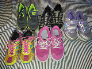 Girls Running Shoes (Sizes 12-1)