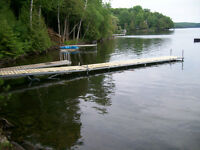 "Floating ""Cottage Buoy"" 20 foot long docks for sale"