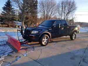 Ford F150 FX4 Leather. Plow truck Cambridge Kitchener Area image 9