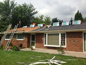 up to $500.00 signing bonus for Roofing shinglers / labourers