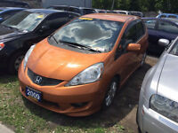 2009 Honda Fit Sport Hatchback. 100 % Approval Loans!
