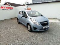 2012 61 CHEVROLET SPARK PLUS 1.0 .5DR ONLY 61000 MILES WITH SERVICE HISTORY,