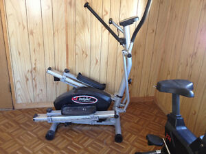 Bodyflux 2 in 1 Magnetic Elliptical and Stepper