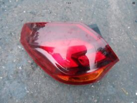 Vauxhall Astra mk6 near side tail light cluster