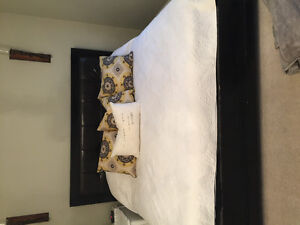 Beautiful solid wood King size bed