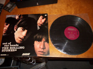 1965 THE ROLLING STONES - Out of Our Heads Album / Record / LP