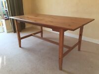 Large Extending Dining Table - Free Delivery