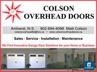 Garage Door Sales Service and Repair