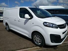 2019(69) Vauxhall Vivaro 2900 Sportive 1.5D 100PS L2 32K White NoDeposit Finance