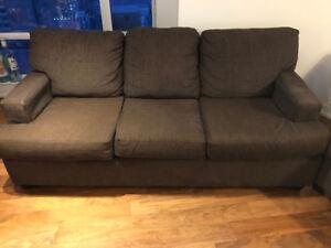 Brown - 3 seater sofa