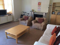 Large double room in friendly house (suitable for singles or couples)